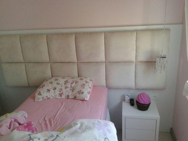 Painel para cama com captone